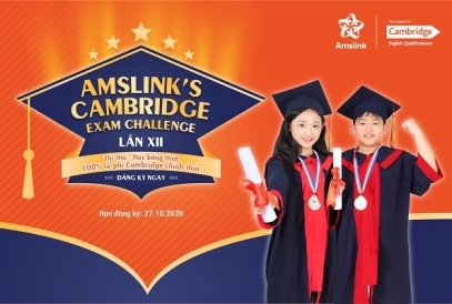 CUỘC THI AMSLINK'S CAMBRIDGE EXAM CHALLENGE LẦN THỨ 12